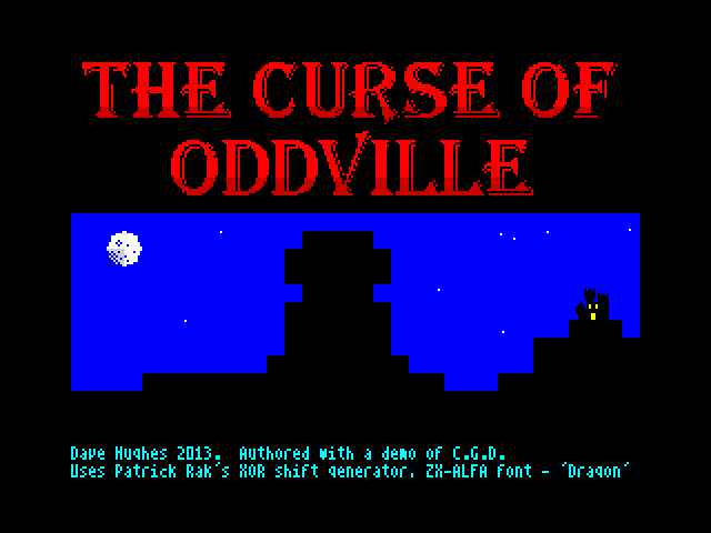 The Curse of Oddville image, screenshot or loading screen