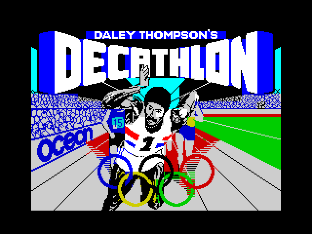 Daley Thompson's Decathlon image, screenshot or loading screen