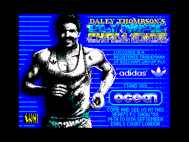 Daley Thompson's Olympic Challenge image, screenshot or loading screen
