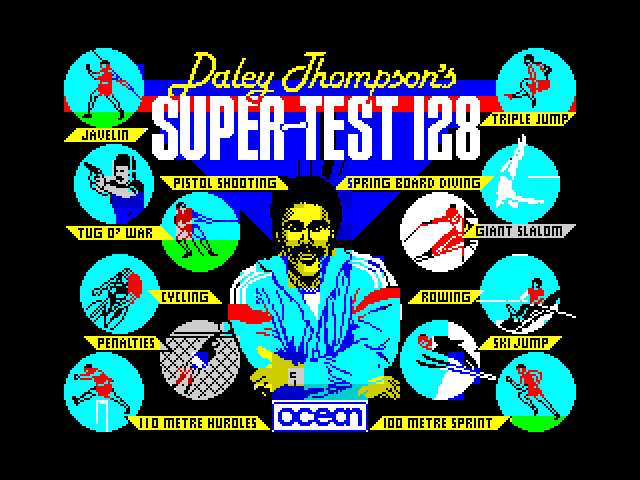Daley Thompson's Supertest image, screenshot or loading screen