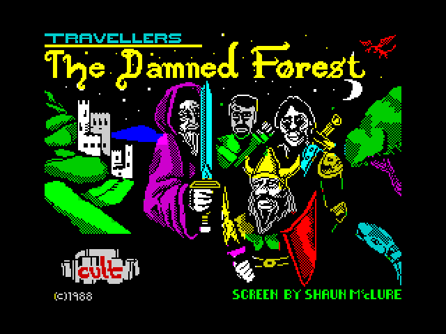 The Damned Forest screen