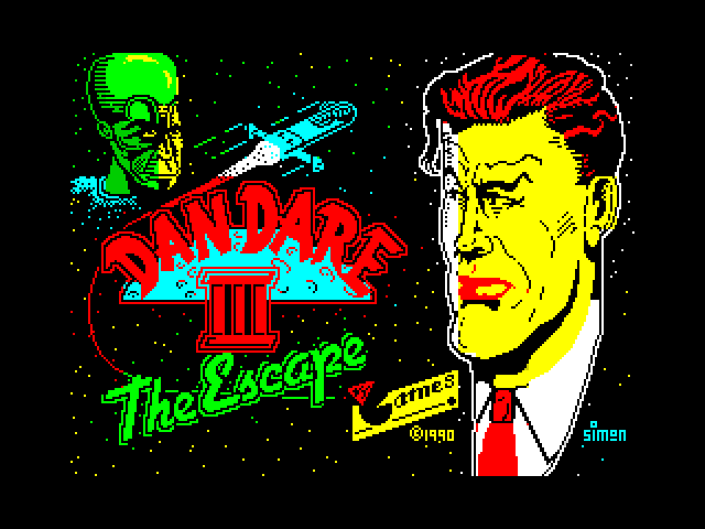Dan Dare III: The Escape image, screenshot or loading screen