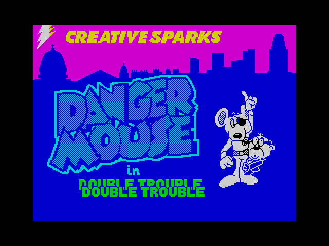 Danger Mouse in Double Trouble screen