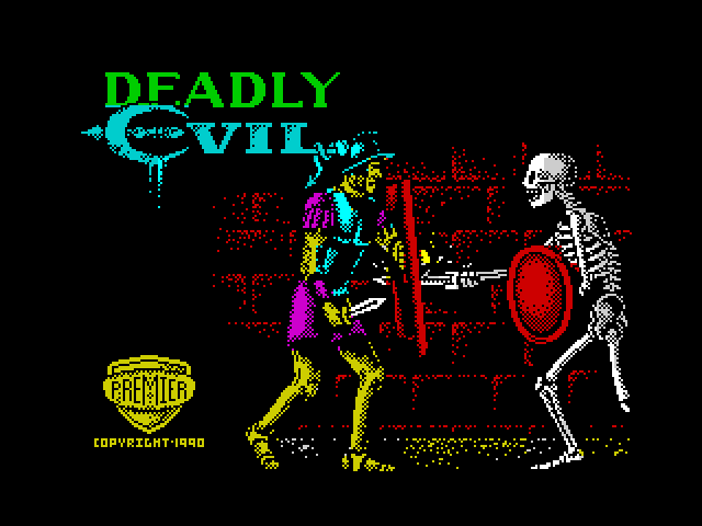 Deadly Evil screen