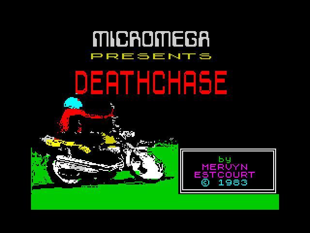 Deathchase screen