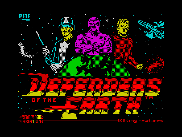 Defenders of the Earth screen