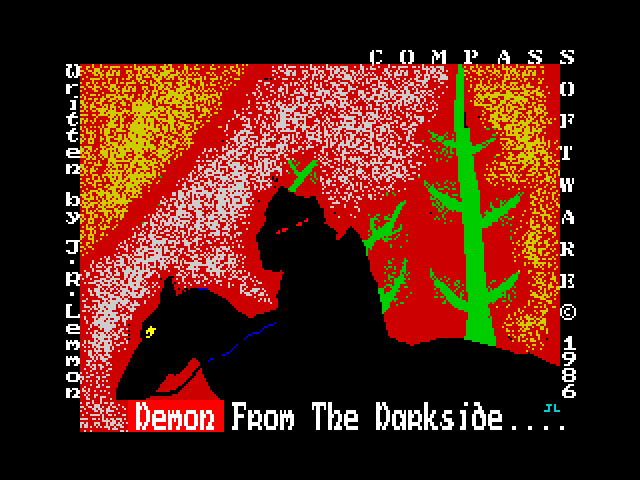 Demon from the Darkside screen