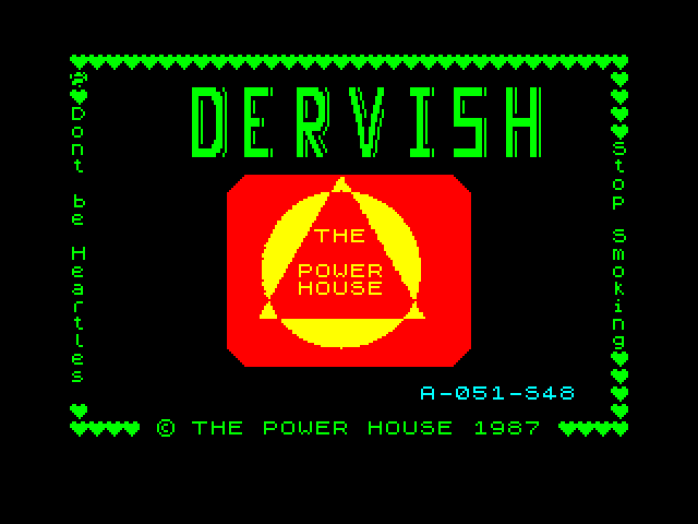 Dervish screenshot