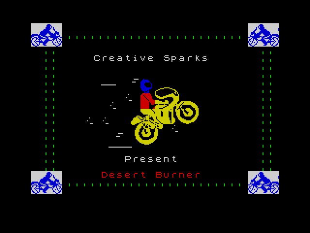 Desert Burner screen