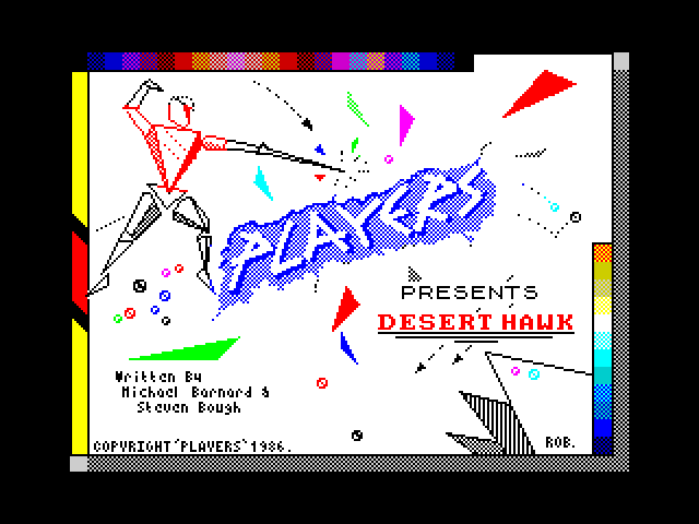 Desert Hawk screenshot