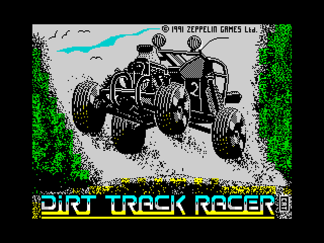 Dirt Track Racer screen