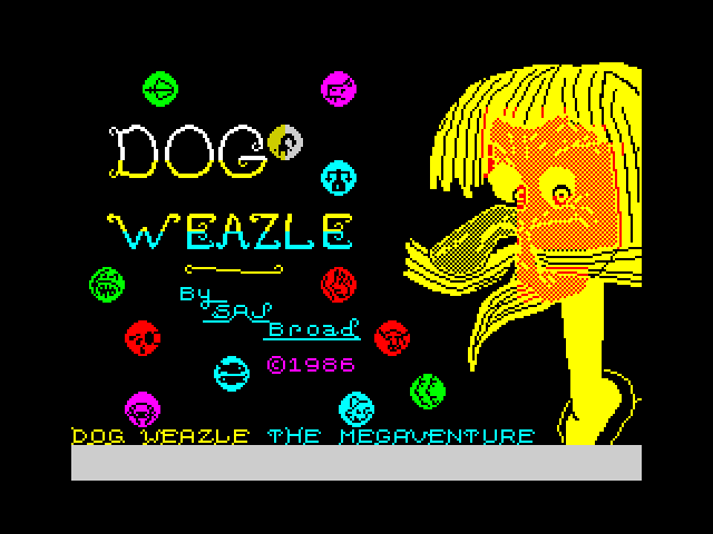 Dog Weazle - The Megaventure screen