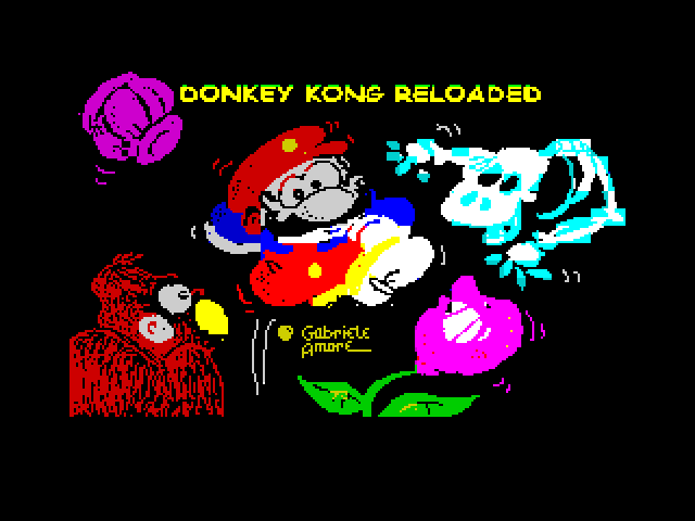 Donkey Kong Reloaded screen