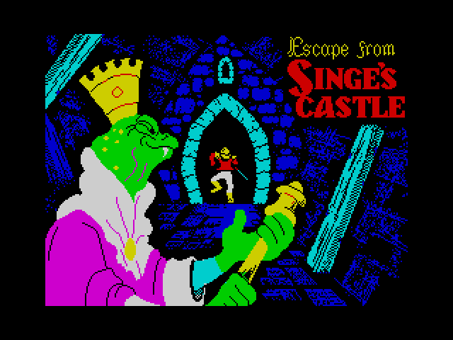 Dragon's Lair II: Escape from Singe's Castle screen