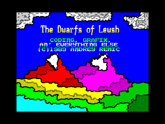 Dwarfs of Lewsh screenshot