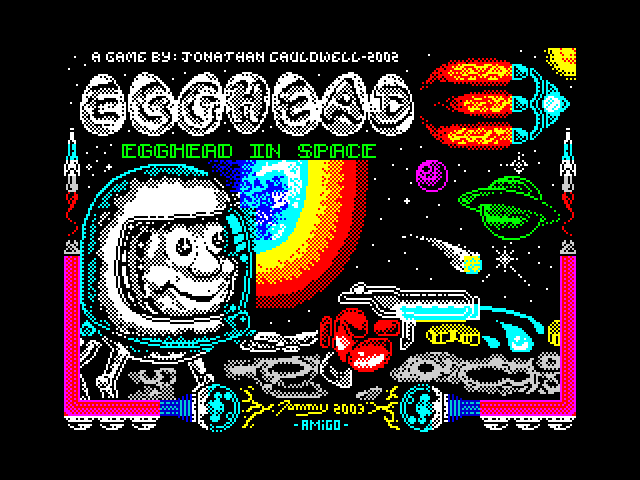 Egghead in Space screenshot