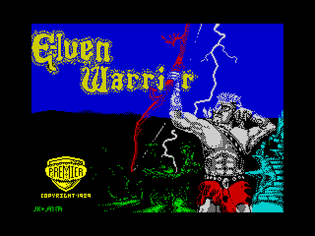Elven Warrior screen