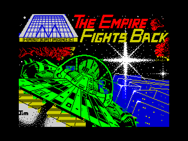 The Empire Fights Back screen
