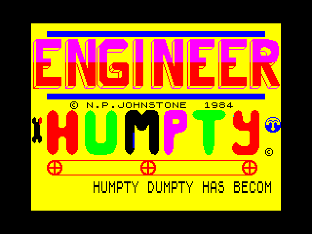 Engineer Humpty screenshot