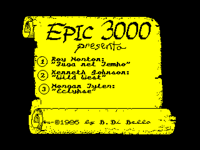 Epic 3000 Nr 07 image, screenshot or loading screen