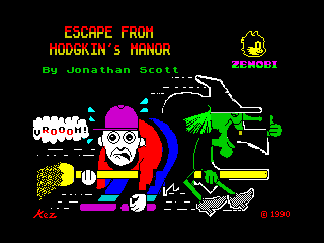 Escape from Hodgkin's Manor image, screenshot or loading screen