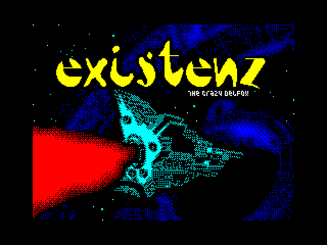 Existenz screen