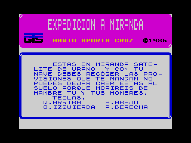 Expedicion a Miranda screenshot