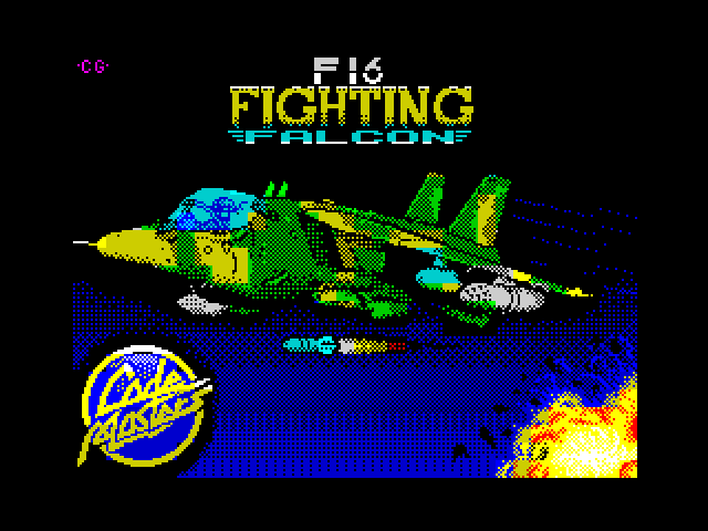 F-16 Fighting Falcon screen