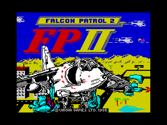 Falcon Patrol 2 screen