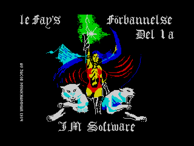 Le Fay's Forbannelse screen