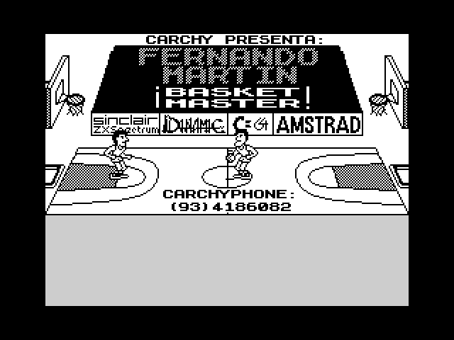 Fernando Martin Basket Master (BETA) screen