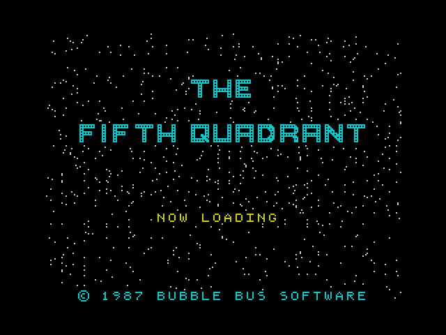 The Fifth Quadrant screen