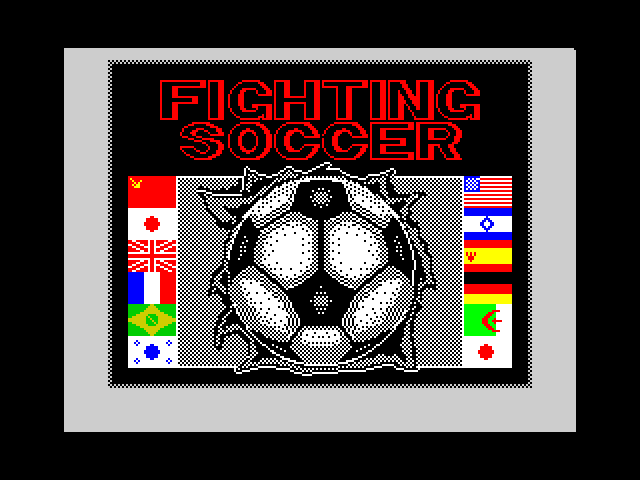 Fighting Soccer image, screenshot or loading screen