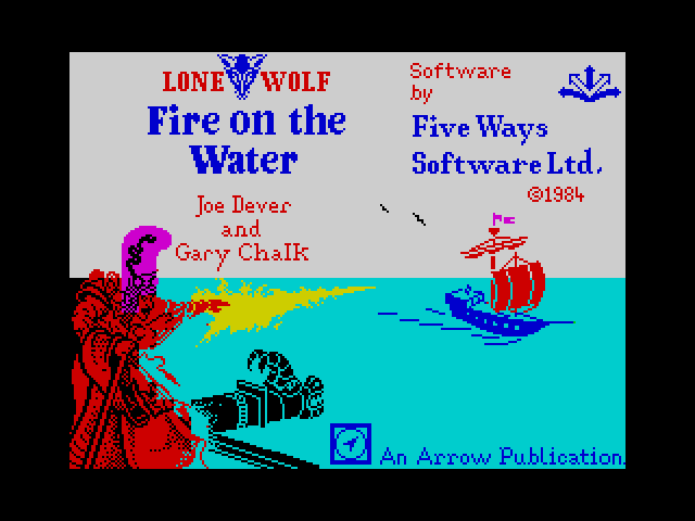 Fire on the Water screen