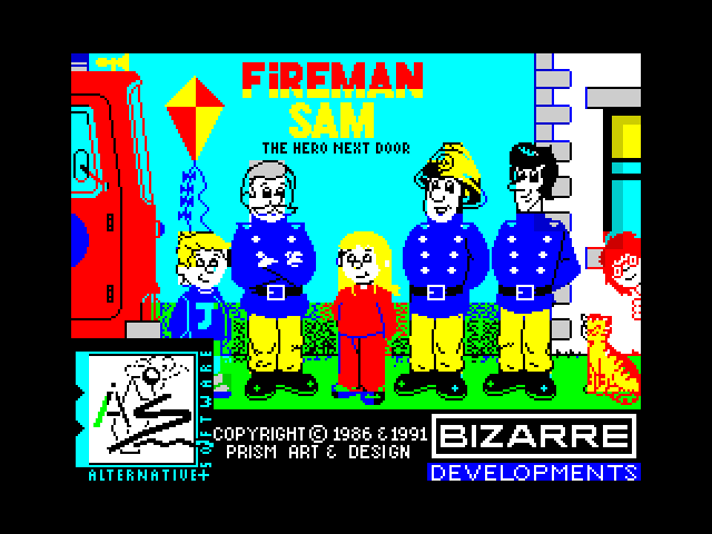 Fireman Sam screenshot