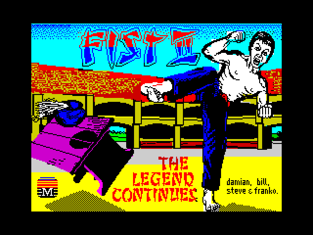 Fist II: The Legend Continues screen