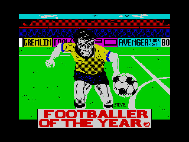 Footballer of the Year screenshot