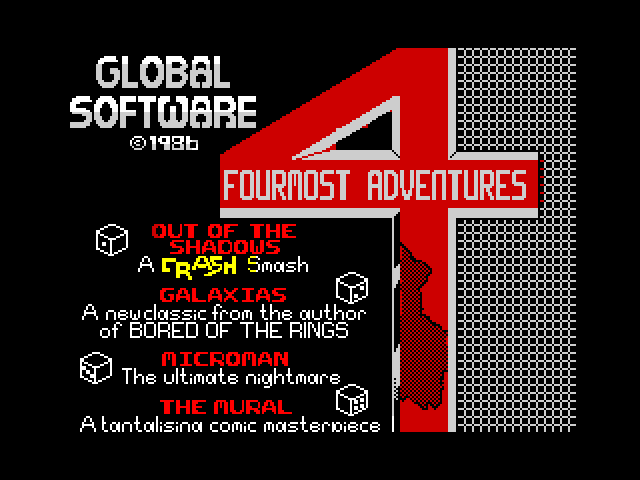 Fourmost Adventures screen