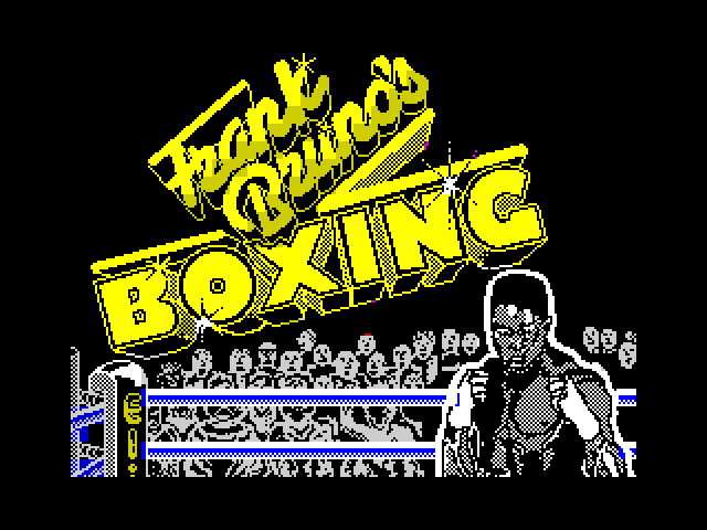 Frank Bruno's Boxing screen