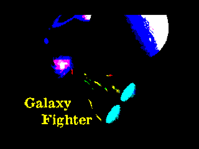 Galaxy Fighter screen
