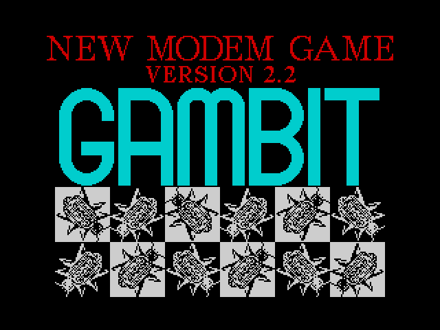 Gambit screen