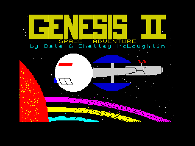 Genesis II screenshot