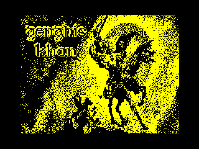 Genghis Khan screen