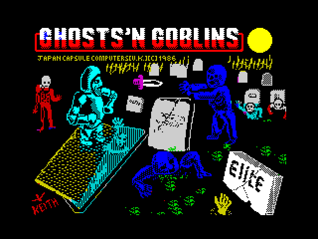 Ghost 'n Goblins image, screenshot or loading screen