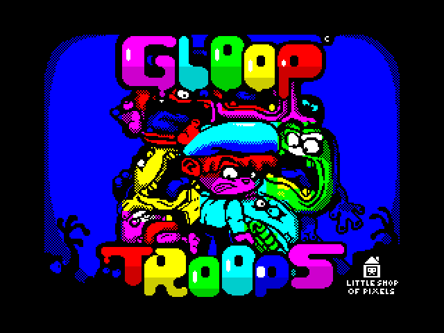 Gloop Troops screen