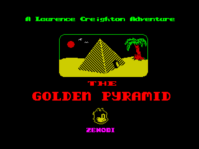 The Golden Pyramid screen