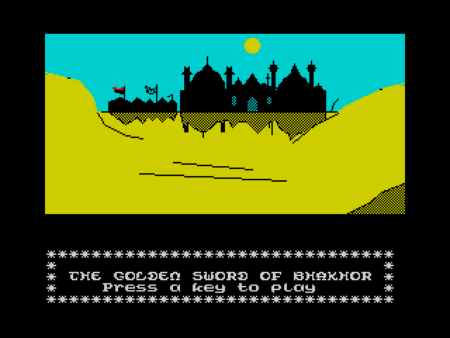 The Golden Sword of Bhakhor screenshot