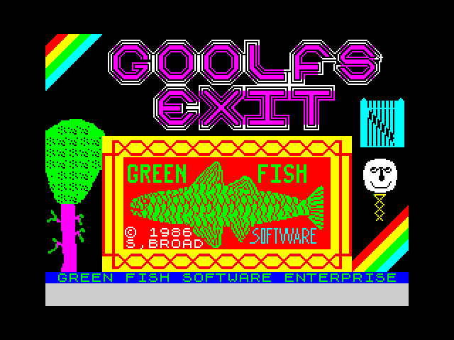 Goolfs Exit screen