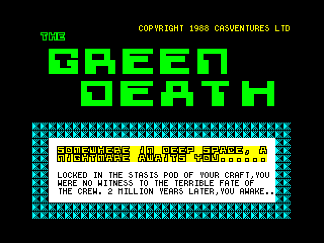 The Green Death screenshot