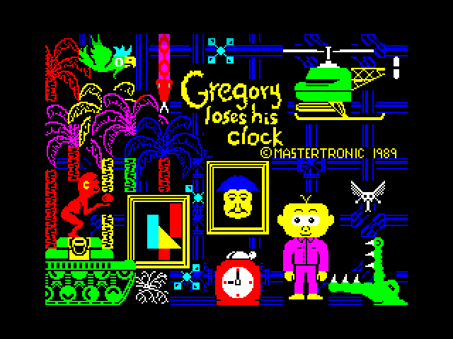 Gregory Loses His Clock screen